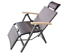 Alina Outdoor/Resort pool furniture Folding chaise/beach Resin Outdoor Sun Lounger