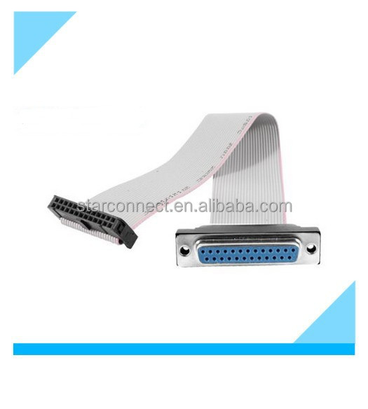 China Custom Electrical Computer Idc Cable With Db ...