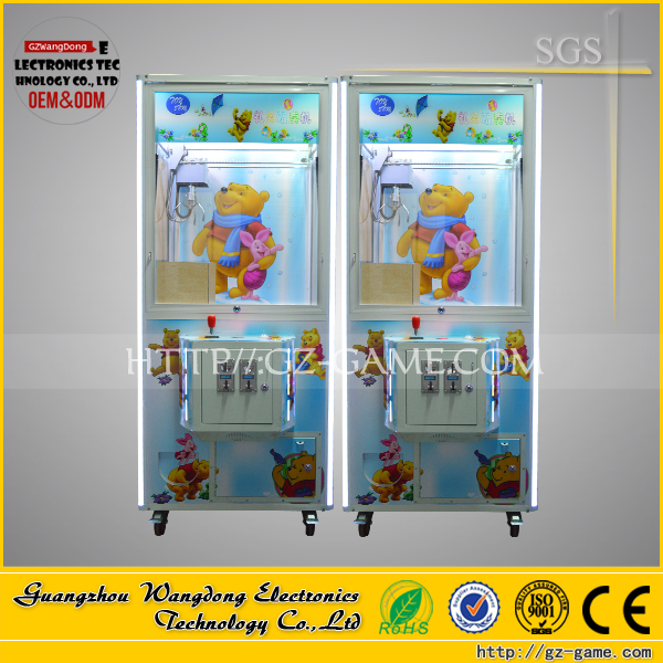 USA The New Claw Crane Electronic Candy Grabber Game Arcade Machine, Mini Plush Toy Claw Crane Machine