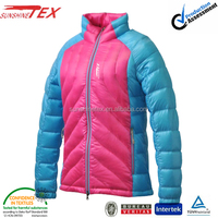 colorful warm parka winter jacket