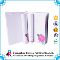 High quality China Supplier A4 300 pages Custom Marble Notebook Printing