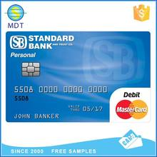 blank rfid pvc cards low cost printable nfc card contactless smart card with chip