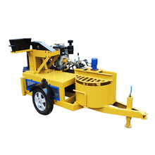 Hairun motor diesel engine block and brick making machine