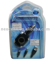 Paypal accepted,3in1 Combo Caber Car Charger for PSP