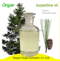 HACCP certified manufacturer supply high quality 100 % pure natural organic turpentine essential oil