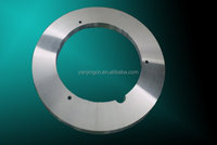 Round shear blade for cutting hot rolled steel plate