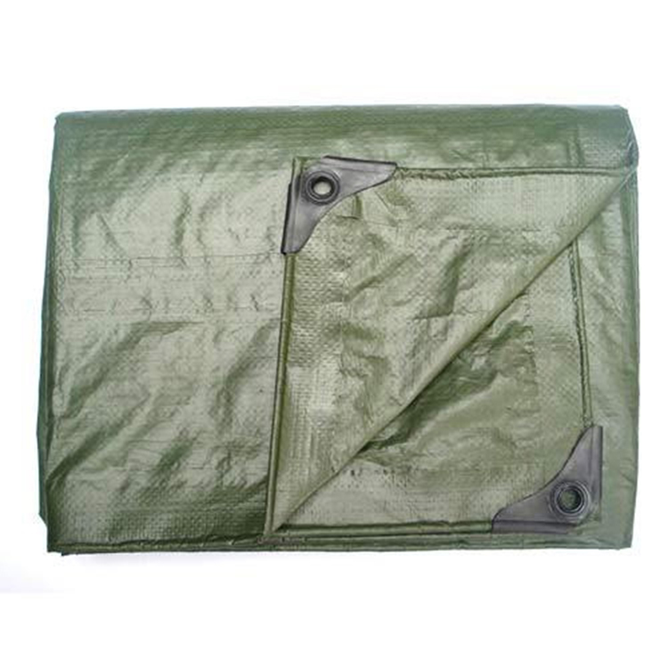 Hot Selling High Quality Recycled HDPE Woven Military Tarpaulin