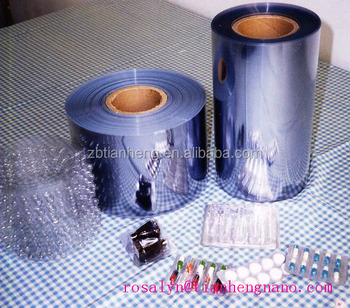 2016 the best quality pvc film for pharmaceutical packaging