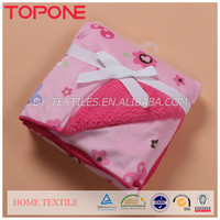 Printed Blanket Factory China Wholesale Airline Travel Used Crochet Baby Blanket Microfiber in Rolls