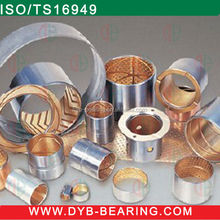 Stainless steel bushing many types slide BRONZE sleeve bearing bush, oiless BImetal bushing manufacturer