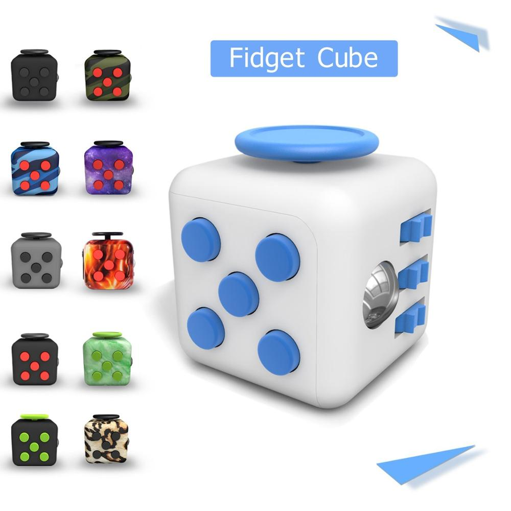 2017 Trending Wholesale 3D Magic Reliever Cube Stress Ball , Anti Fidget Stress Cube