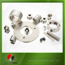 custom ring/cylinder/block/disc/arc neodymium magnet with nickel plating