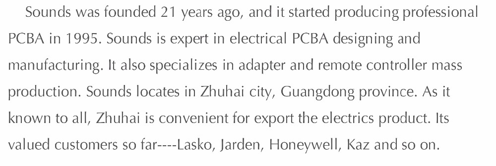 pcba pcb electric circuit board manufacturer for household product