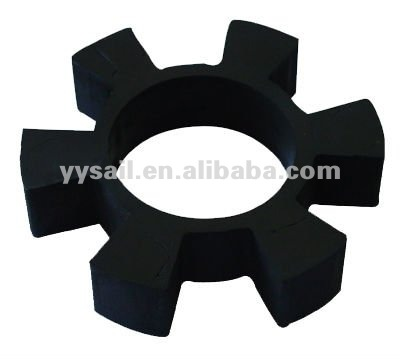Molded auto door rubber part and seals