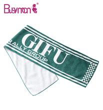 Microfiber soft hand feeling heat transfer printed sports towel