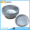 Disposable roud aluminum foil plate aluminum foil bowl food container