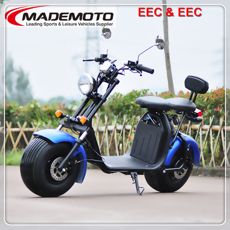 EEC approved three wheel electric scooter citycoco 1500w 3 wheel electric scooter