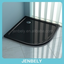 White/Black High Grade Acrylic/ABS Shower Tray