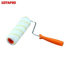8 Inch Non Dead Cornor Dacron Paint Roller Cleaning Brush Roller Brush With PP Handle
