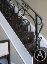 Hand-forged balustrade/wrought iron railing parts