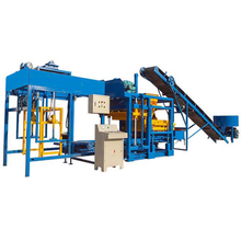 FL4-25 high quality automatic cinder fly ash brick block making machine production