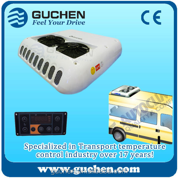 12 volt dc air conditioner for Van 10Kw roof-top mounted