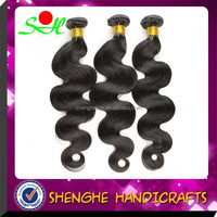 high quality unprocessed wholesale 22 inch body wave nature color unprocessed virgin remy peruvian hair