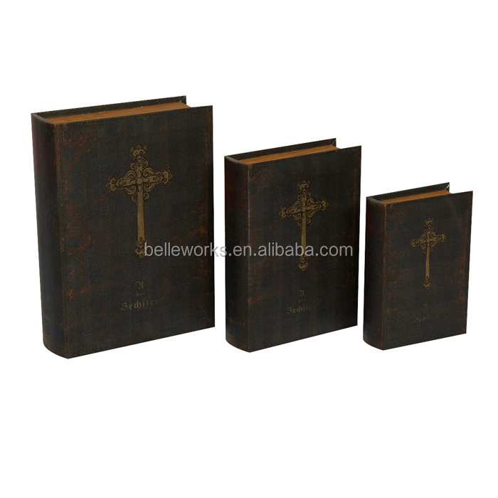 Luxury Europe Fake Book Box For Wholesale