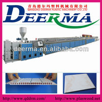 PVC ceiling panel making machine/extrusion line/machine to make PVC ceiling