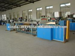 3 color drinking straw production machine
