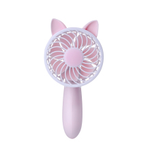 Hot Sale Portable 3 Speed Adjustable Cooler Mini 1200mAh Rechargeable Handy Small Fold Table Fan
