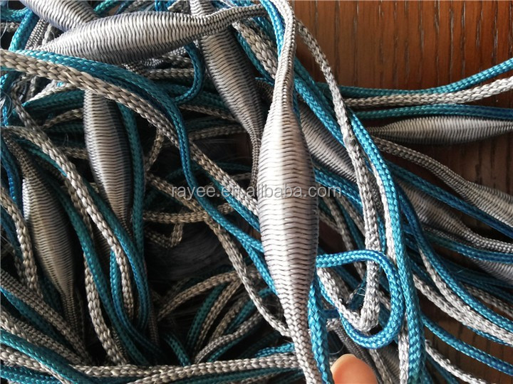 fishing gill nets completed fishing netwith float and sinker ,Sea fishing nets float,rede de pesca