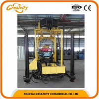 Truck mounted hydraulic drilling rig water well,small water well drilling rig portable drilling rig