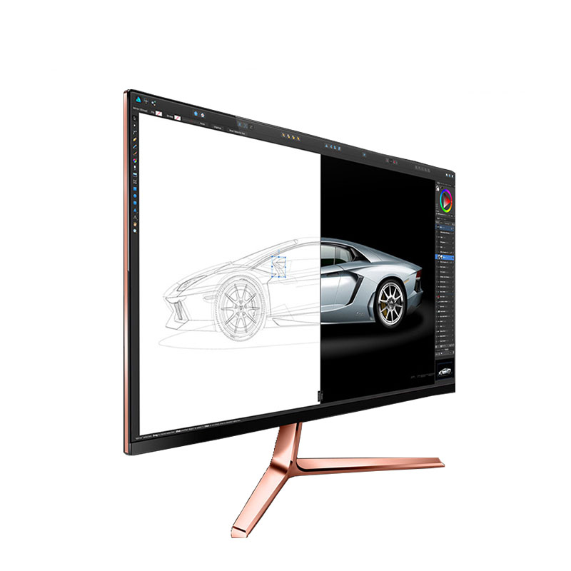 2019 New arrival high brightness 23.8 inch IPS lcd monitor