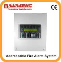 UK standard 1 loop wired Addressable Fire Alarm Control Panel EN approved Apollo fire panel