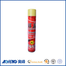 Factory Direct Supply High Expansion 750ml Iron Steel Can Construction PU Foam Sealant Spray Polyurethane