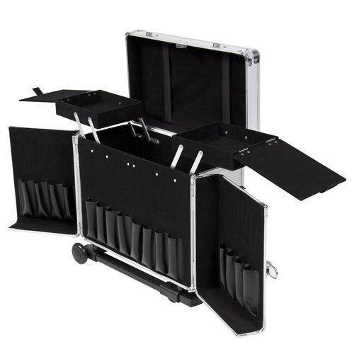 professional rolling hair tool kit case, hair stylist tool case,hair stylist beauty case