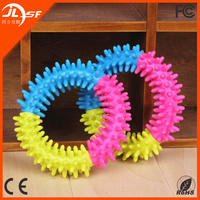 Funny Soft Rubber Swim Ring Dog Sex Toy,Healthy Dog Chew Toy in Sale