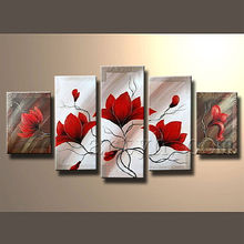 Modern Abstract Decoration Home Wall Flower Painting