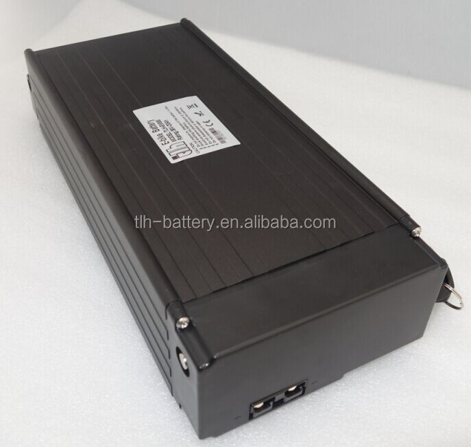 black 15ah 48v battery bicycle 18650 pack for 7500W motor