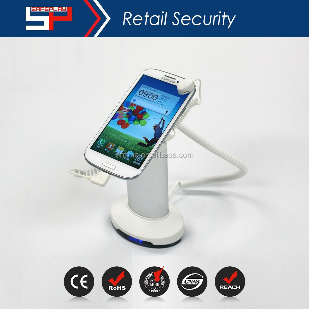 ONTIME SP2101- cell phone display security system High quality alarm display stand for mobile phone