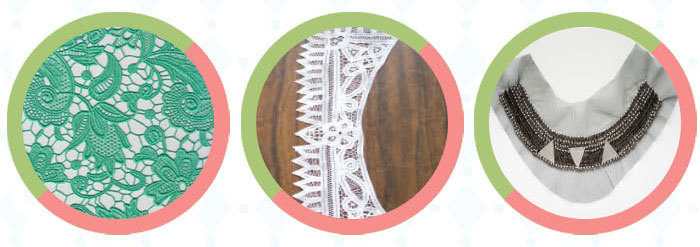 Widentextile Welcome OEM Free Sample Available New Product Promotion Eco-friendly Africa Handcut Lace