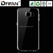 For Samsung galaxy s6 Ultra thin Transparent clear TPU back Cover case mobile phone case for galaxy s6