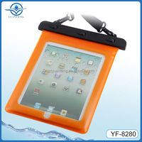 TPU Waterproof Material IPX8 tablet PC for ipad4 waterproof bag