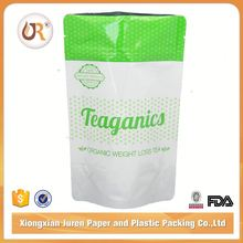 Clear Plastic Medicine Packaging Pe Zipper Bag with Handle