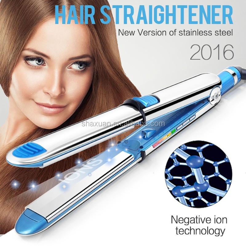 Shuaxuan 2016 hair straightener from italy hair straightener hair roller