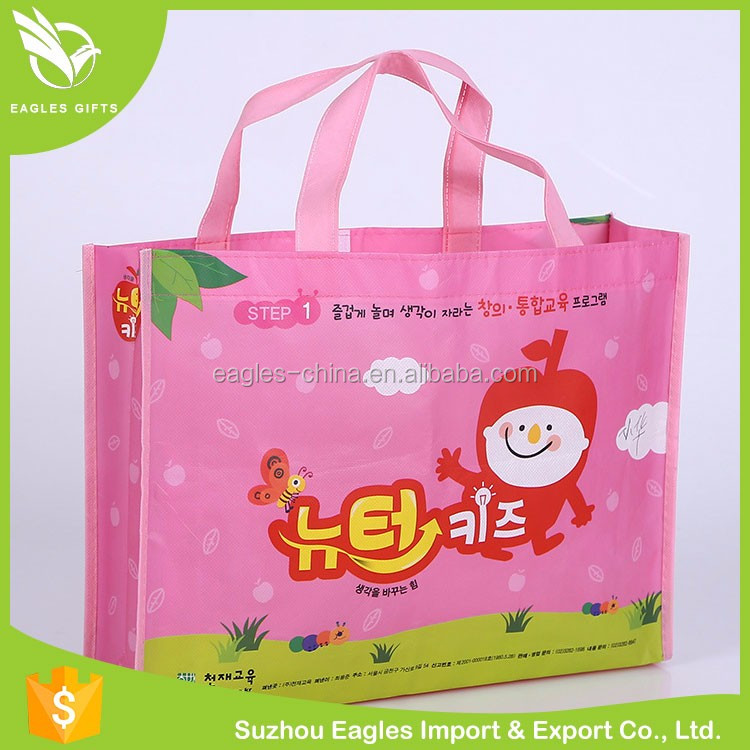 Promotional No Woven Rusable Shopping Bag
