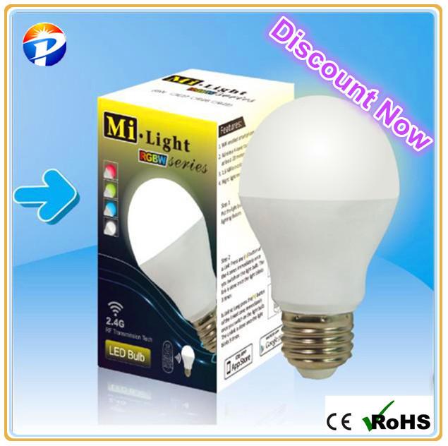 2014 High brightness led bulb 6w 2700-7000K dimmable CCT adjustable E27/E26/B22 led bulb light