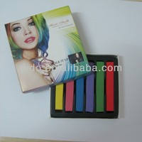 Temporary 6 Colors Pastel Chalk Bug Rub Hair Chalk