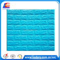 blue self adhesive Foam Wallpaper